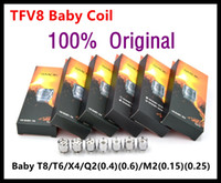 Wholesale Core Engines - SMOK TFV8 Baby Coil Head Replacment T8 X4 T6 Q2 Beast Coil Engine Core for Sub Ohm Tank 100% Original