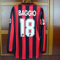 Wholesale 96 season Baggio jerseys player version long sleeve and short sleeve