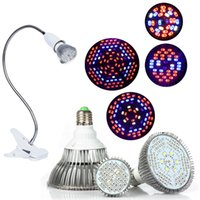 Wholesale indoor plant lights for sale - Full Spectrum led grow lights E2718W W W W led growing lights indoor Plants lamp for hydroponics system