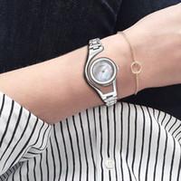 Wholesale Elegant Sinobi Ladies Watch - atch speaker SINOBI Elegant Small Shell Dial Bracelet Watch For Women Skeleton Design Ladies Wrist Watches 2017 Silver Relogio Feminino #...