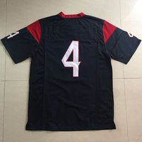 Wholesale Cheap American Football Jerseys Deshaun Watson throwback Men Womens Youth Kids Houston Color Rush Men s Game Stitched Jersey XL