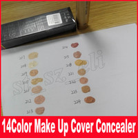 Wholesale Type Tattoos - New Skin Concealer foundation Base Make up Makeup Cover Extreme Covering Foundation Hypoallergenic Waterproof 30g Tattoo handling