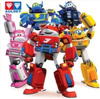 Mais novo Big Deformation Armor Super wings Rescue Robot Figuras de Ação Super Wing Transformation Fire Engines Toys