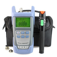 Wholesale Power Cable Tester - 30mW Visual Fault Locator Fiber Optic Cable Tester and Optical Fiber Power Meter (-70dBm~+10dBm) Fiber Optic Power