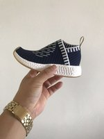 Wholesale Increase Knitting - the selling 2017 NnMD Primeknit OG many colors for kids Triple Kicks Circa Knit Running Sneakers Originals Classic Casual Shoes