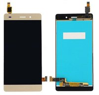 Wholesale Display Huawei - For Huawei P8lite P8 LITE LCD Display Touch Screen Digitizer Black White Gold Lcd P8lite Free Shipping