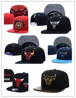 Wholesale Hip Hop Bboy - New Arrival Hip Hop Gorras Snapback Fashion Casquette Unisex Casual Adjustable Basketball Baseball Cap Bboy Hat Bones Chicago New