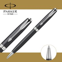 Wholesale Blue Pen Parker - Parker Sonnet Ballpoint Pen Silver   Golden Clip Business Parker Ball point Pen Writing stationery Office Supplies