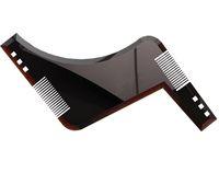 Wholesale Hair Cutting Guide Tools - The Ultimate Beard Guide Beard Shaping Tool Sex Man Gentleman Beard Trim Template hair cut molding trim template