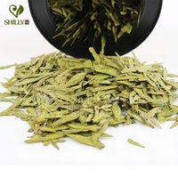 Wholesale New Te g Longjing Green tea West Lake Dragon Well Chinese tea xi hu longjing tea dragon Slimming Tea