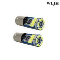 Wholesale led ba9s - WLJH Canbus Ba9s Led White No Polarity 4014 error free 12v Dome Light number plate Lamp Parking LED Eyelid Interior Bulb