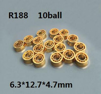 Wholesale FBA Drop Shipping YOYO ball parts ball R188 KK bearing mmsize R188 KKJ yo yo K gold bearing