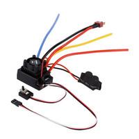 Wholesale Esc For Car - 1pcs OCDAY 1 10 80A Adjustable Sensored Sensorless Brushless ESC For Car Truck
