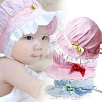 3a7e7d4dfaa Summer 0-12M Kids Baby Boys Girls Bucket Hats Sun Bonnet Beanie Beach Cap  Hat
