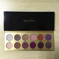 Wholesale High Quality Queen Size - 12pcs The Colouredraine 'Queen of Hearts' Eyeshadow Palette 12 colors Eye Shadow Platte High Quality DHL Free Shipping