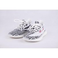 Wholesale Fahion Shoes - New Fahion BZ0256 SPLY-350 Black White 350v2 Boost Kanye West Men Women Running Outdoor Sneakers Casual Shoes True Boost Heels Size10