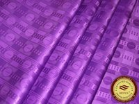 Wholesale African Brocade Fabric - High Quality Guinea Brocade Bazin Riche Fabric 10Yards Bag Purple Color nice design african Garment Fabric Shadda Damask