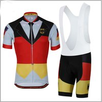Wholesale Jersey Mountain Bike Size Xs - 2018 Men Summmer triathlon Germany National Team Cycling Jersey mountain bike clothes maillot ciclismo ropa Size XXS-6XL N5