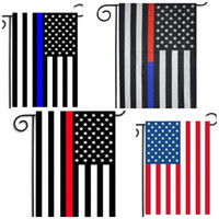 Wholesale Flag California - America Garden Flag Blue Black Stripe California Republic Banners Polyester Fiber Without Flagpole National Flags Factory Direct Sale B R