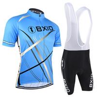 camisas de ciclismo unisex venda por atacado-BXIO Verão Respirável Ciclismo Jerseys de Manga Curta Unisex Bicicletas Roupas Disponíveis Ciclismo Kits Com Alta Qualidade Roupas de Ciclismo BX-047