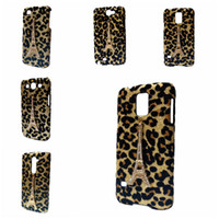 Wholesale Galaxy S4 3d Bling - 3D Bling Gold Leopard Rhinestones Tower Hard Back Case Cover for iPhone 4S 5C Galaxy S3 S4 I9500 S5 S6 Edge Huawei Honor 7 P8 Lite P9 Lite