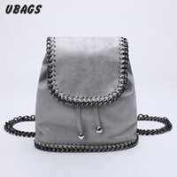 Wholesale Shoulder Bags For Middle School - Wholesale- Women Mini Chain Backpack Bags Trendsetter College Wind Small Bag Fashion Shoulder Travel bags Middle School Backpacks For Girls