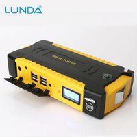 Wholesale Start Motors - LUNDA 12V Car Jump Starter Great discharge rate diesel power bank for car motor vehicle booster start jumper battery