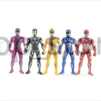 Wholesale toy figures for sell resale online - Hot sell set cm PVC Powerful Hero Ranger Figures Toys For children Action Figures Buy free delivery now