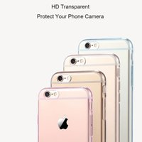 Wholesale Iphone 5s Case Cheap - Transparent Clear Case for iPhone 5 5s SE 6 6S 7 Plus Soft Silica Gel TPU Silicone Ultra Thin Mobile Phone Cover Cheap