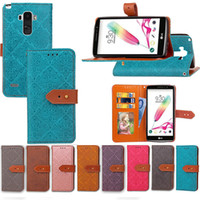 Wholesale G3 Model - Magnetic Wallet Case European Frescoes Style Folio PU Leather Flip Stand Cover Built-in Cards Slots For lg G3 G4 Stylus More Models Option