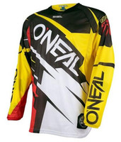 Wholesale Moto Modelling - Click To See More Models! Mountain Bike MX moto clothes summer Downhill bike jersey long sleeve bicycle wear without zippers