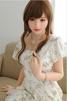 Wholesale free sex blow online - real silicone sex dolls lifelike sexy love doll seductive voice life size realistic blow up doll adult sexdoll for men