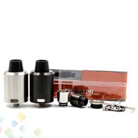 Wholesale Wholesale Decks - GeekVape Tsunami 24 RDA Atomizer Clone Velocity style Deck Kennedy Style Airflow Hollow positive pin 24MM fit 510 Mod DHL Free