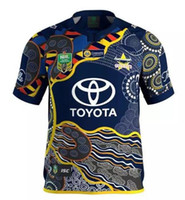 Wholesale NRL National Rugby League North Queensland jersey High temperature heat transfer printing jersey Rugby Shirts