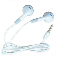 Wholesale phone 3g mp4 resale online - 200pcs In Ear Earbuds Earphone for mobile phone g Headphones for MP3 MP4 mm Audio Free DHL FEDEX