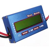 digitale leistungsmesser großhandel-Digitaler DC-Wattmeter 60V / 100A - Spannung Strom Power Battery Analyzer-4 in 1