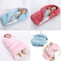 enveloppe des enfants achat en gros de-Sac de couchage bébé hiver Enveloppe pour nouveau-né sac de couchage thermique Sac de couchage en coton pour enfants en fauteuil roulant