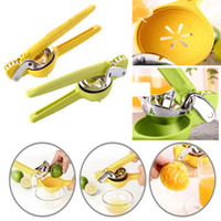 Wholesale Metal Orange Squeezer - High Quality Stainless Steel Fruit Squeezer Reamers Hand Press Manual Juicer Lemon Orange Lime Kitchen Cookware Fresh Vegetable Tool HH-C16