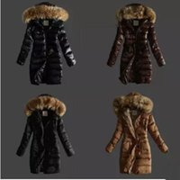 Wholesale Long Purple Feather Skirt - 2015 Classical style winter long women's winter coats and jackets, Brand Down jacket , outerwears free shipping