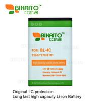 Wholesale Bl 4c Battery - BL-4C Mobile Phone 3.7V 1050mah Battery For Nokia 7200 7270 6101