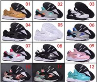 Wholesale Genuine Leather Boots Usa - Very popular in usa Wholesale Running Shoes Men Women Air Huarache Sneakers Boots Authentic 2017 Discount Classic Sports Shoes Size 36-46