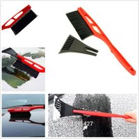 Wholesale Car Snow Brushes Scrapers - Mini Multifunction Vehicle Car Snow Brush Ice Shovel Scraper Removal Emergency Spade Auto Clean Tool Free shipping EA1105