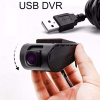 Wholesale Usb Card For Dvd Player - Front car DVR Camera USB Video Recorder for Android 4.4 5.1 6.0 OS GPS Navigation DVD Radio Car DVD Player