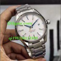 ingrosso orologio aqua terra-Luxury Top Alta qualità Maker 231.10.42.21.02.002 41MM Aqua Terra 150M CAL.8500 Movimento automatico Mens Watch Orologi in acciaio inox