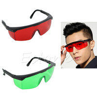 Wholesale Eye Laser Protection Glasses - Wholesale- Protective Goggles Safety Glasses Eye Spectacles Green Blue Laser Protection-J117