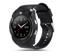 Wholesale Heart Models Cheap - Cheap Type Model Smart Watch Phone supprt 2G network Anti Lost Barometer Pedometer Altimeter Stopwatch Messaging