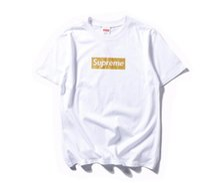 Wholesale Designer Casual Shirts Women - 2017 New designer mens t shirts brand sup Bandana Print camisetas masculinas Too Broke t shirt men HBA hip hop tshirt mens women shirt