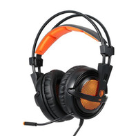 Wholesale Surround Sound Gaming Headphones - SADES A6 7.1 Surround Sound USB Gaming Headphones Professional Over-Ear Game Headset Noise Isolating with Mic for Computer Game