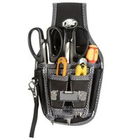 Wholesale New Electrician Tools - Wholesale-New Arrival 9in1 Electricians Waist Pkt Tool Belt Pouch Bag Screwdriver Carry Case Holder Outdoor Working