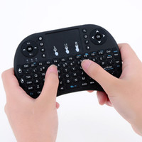 mini player de mídia sem fio venda por atacado-20x teclado sem fio mini i8 air mouse multi-media player touchpad controle remoto para android smart box tv mxii m8 mxq mx3 mini pc